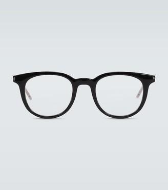 Gucci Circular framed glasses
