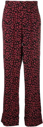 Ganni All-Over Print Trousers