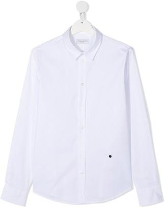 Paolo Pecora Kids TEEN poplin shirt