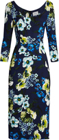 Erdem Tess Hasu Night-print jersey dress