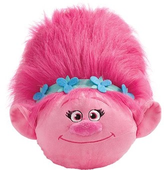 Dreamworks Trolls Jumboz Pillow Pets Floor Pillow - Jumbo Poppy Stuffed Animal Plush Toy