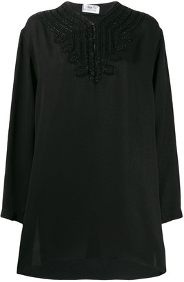 Saint Laurent Beaded Loose Top