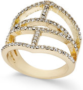 INC International Concepts Gold-Tone Pavé Ring, Only at Macy's