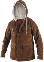 Rip Curl Men's Dawn Patrol Corduroy Jacket with Fleece-Lined Hood