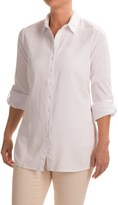 FDJ French Dressing Ultimate Twill Tunic Blouse - Long Sleeve (For Women)