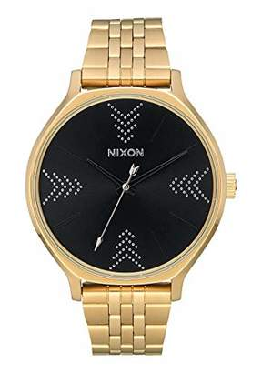 Nixon Womens Analogue Quartz Watch with Stainless Steel Strap A1249-2879-00
