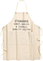 H&M Apron with Printed Text Motif