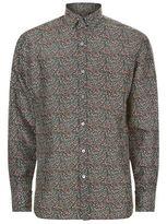 Lanvin Micro Pattern Shirt