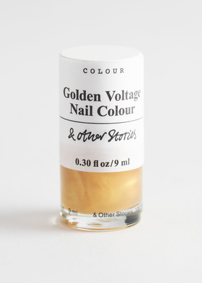 And other stories Golden Voltage Nail Polish