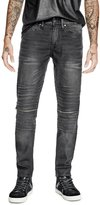 GUESS Moto Slim Tapered Jeans