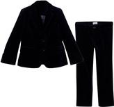Il Gufo Navy Velvet Suit
