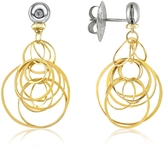 Orlando Orlandini Scintille - Small Diamond 18K Gold Drop Earrings