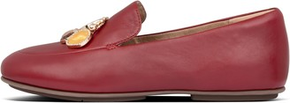 FitFlop Lena Jewel Leather Loafers