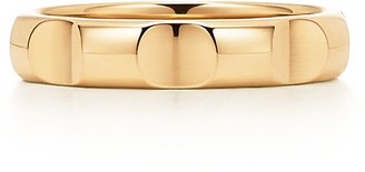 Tiffany & Co. Paloma's Groove narrow ring in 18k gold, 4 mm wide - Size 12