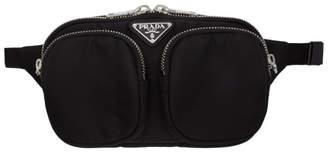 Prada Padded Double Pockets Belt Bag