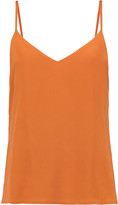 L'Agence Jane washed-silk camisole