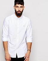 Farah Oxford Shirt In Regular Casual Fit