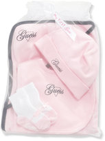 GUESS Layette Baby Girl 4Pc Accessory Set