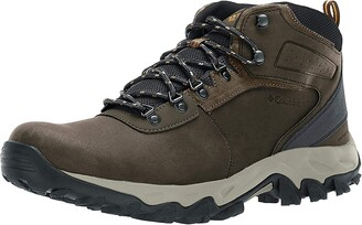 Columbia Men's Newton Ridge Plus II Waterproof Hiking Boot Breathable High-Traction Grip