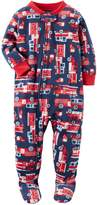 "Carter's Baby Boys' ""Ladder Company"" Footed Pajamas"