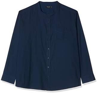 Jacamo Men's Long Sleeve Grandad Oxford Shirt Regular Casual,(Size:S36/38)
