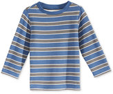 First Impressions Long-Sleeve Mixed-Striped Thermal T-Shirt, Baby Boys (0-24 months), Only at Macy's