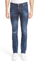 DSQUARED2 Distressed Slim Fit Jeans