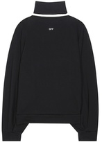 Off-White Cotton Jersey Sweater