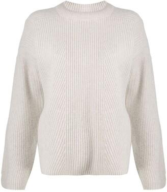LOULOU STUDIO Split-Hem Ribbed Sweater
