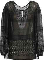 Saint Laurent Broderie Anglaise Gypsy Blouse
