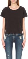 Sundry Distressed cotton-jersey t-shirt