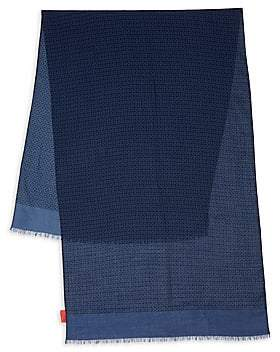 Isaia Men's Cashmere & Wool Scarf