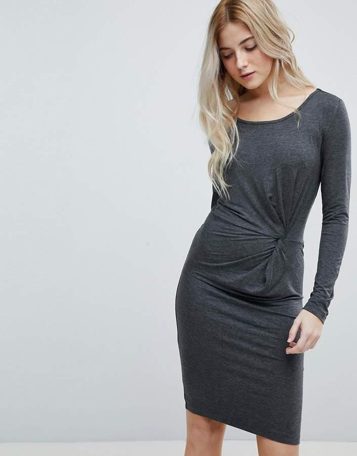 Only Rina Knot Side Jersey Dress