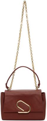 3.1 Phillip Lim Burgundy Alix Soft Chain Bag