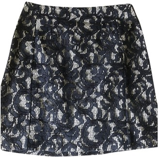 Carven Blue Cotton Skirts