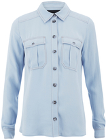 Designers Remix Women's Nova Shirt Light Blue