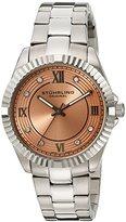 Stuhrling Original Women's 399L.221153 Symphony Lady Nautic Analog Display Swiss Quartz Silver Watch