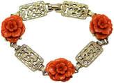 One Kings Lane Vintage Coro Dragon & Faux-Coral Bracelet