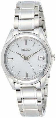 Seiko Unisex's Analogue Quartz Watch with Stainless Steel Strap SUR315P1