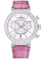 Swarovski Women's 5096008 Leather Swiss Quartz Watch