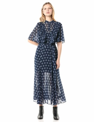 Keepsake Women's Passion Short Sleeve Fit & Flare Midi Dress