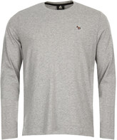 Paul Smith T-Shirt Long Sleeved Zebra Grey PTPD 015R ZEBRA 72