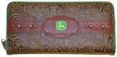 John Deere Ladies Leather Wallet