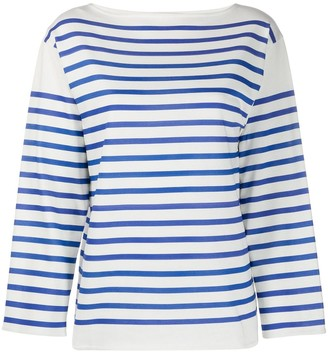 Philosophy di Lorenzo Serafini Striped Long-Sleeve Top