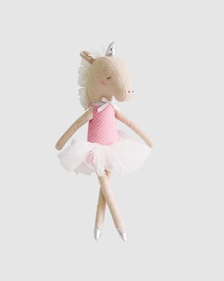 Alimrose - Pink Animals - Yvette Unicorn Doll 43cm - Size One Size, One size at The Iconic
