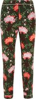 Erdem Giulia floral-print silk-satin straight-leg pants