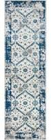 """Chacon Oriental Blue Indoor/Outdoor Area Rug Wrought Studio Rug Size: Runner 2'3"""" x 7'6"""""""