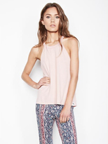 Michael Lauren Enchant High Neck Tank in Cactus