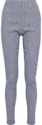 Jil Sander Gingham Seersucker Slim-leg Pants