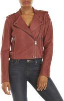 Lucky Brand Asymmetrical Suede Moto Jacket